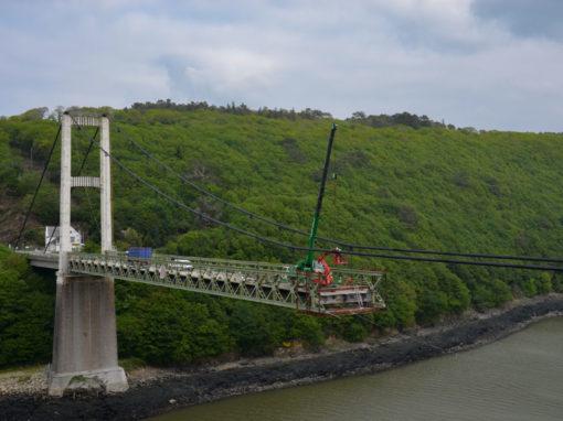 Déconstruction Pont de Térenez Rosnoën 9