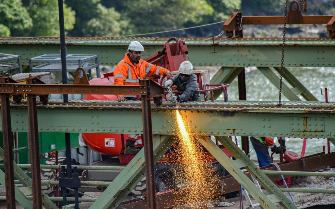 Déconstruction Pont de Térenez