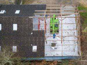 Installation chantier